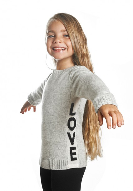 Baby love sweater
