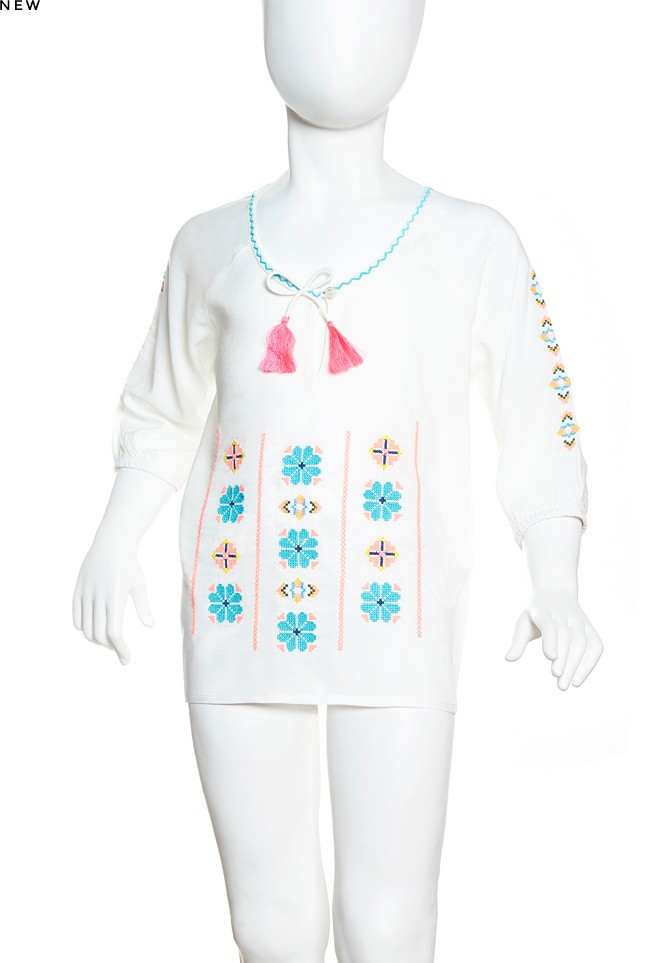 Liz baby kaftan t-shirt